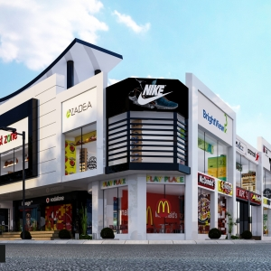 modern mall design uae dubai